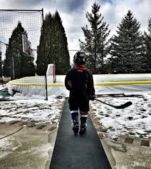 build your own backyard ice rink nicerink