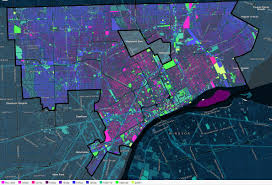Map Of Detroit Michigan Look At This Interactive Map For Insight Into One Of Detroit U0027s
