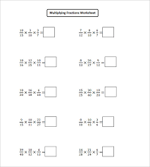 sample multiplying fractions worksheet 14 free documents in pdf