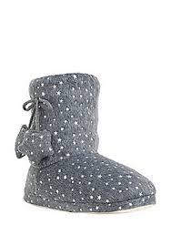 womens boots tesco s slippers nightwear slippers tesco