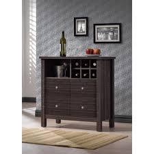 Espresso Bar Cabinet Wholesale Interiors Baxton Studio Bar Cabinet In Espresso