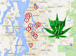 Bremerton Washington Map by Updated Map Of Seattle Area Recreational Marijuana Stores A