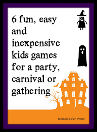 momma u0027s fun world fun games for kids halloween party