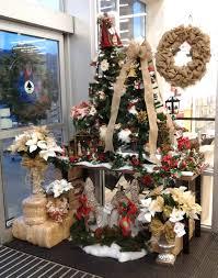 floral design christmas display 2013 by renee corbin michael u0027s