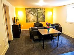 Bachelor Home Decorating Ideas Apartments Winning Admirable Basement Apartment From Home