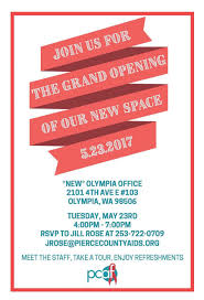 New Office Opening Invitation Card South Sound Partners For Philanthropy Pcaf Grand Opening