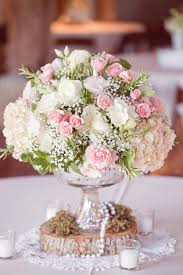 Shabby Chic Wedding Centerpieces by Texas Camp Lucy Wedding From Half Orange Photography Vintage