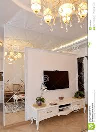 Modern Classic Living Room Interroom Mirror Wall Partition In A Living Room Modern Classic