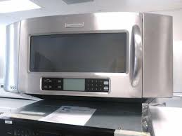 kitchenaid microwave hood fan kitchenaid stainless steel over the range microwave for sale in