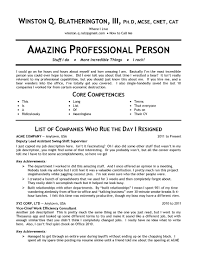 Core Skills Resume Good Adjectives For A Resume Resume For Your Job Application