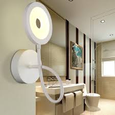 Creative Living Room by Modern Brief Bedroom Wall Lights Simple Bedside Lamp Creative
