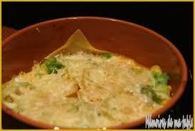 cuisiner chou pointu lasagne au poulet et chou pointu à la béchamel au potimarron