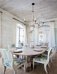 Large Shabby Chic Dining Table And Chairs Living Room Ideas - Chic dining room ideas