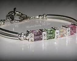 mothers birthstone bracelet mothers bracelet infinity initials birthstones mothers