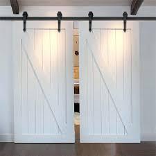 Metal Sliding Barn Doors Sliding Barn Door For Closet U2013 Aminitasatori Com