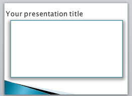powerpoint border template creating a border in powerpoint using