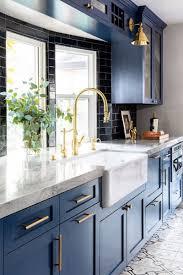 navy blue and grey kitchen ideas 21 amazing blue kitchen cabinet ideas in 2021 houszed