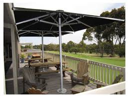 Giant Patio Umbrella by Frankford Nova Giant Center 13 Foot Wide Square Telscoping Crank