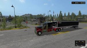 kenworth w900 kenworth w900 lft reworked v1 fs17 farming simulator 2017 fs ls mod