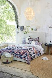 Anthropologie Bed Skirt Risa Quilt Anthropologie