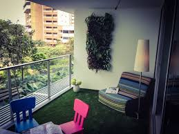 beautiful apartments balcony decor green floor comfy stripped