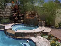 swimming pool and spa design glass tile inground swimming pool and