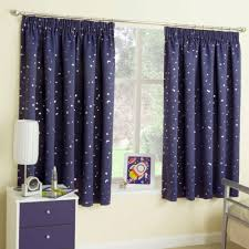 stars at night blockout thermal curtains for kids children bed