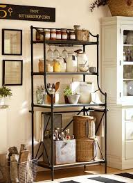 bakers rack with cabinet best 25 bakers rack decorating ideas on pinterest rustic in kitchen