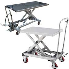 Hydraulic Scissor Lift Table by Mobile Hydraulic Scissor Lifts Battery Powered Electric Lifting