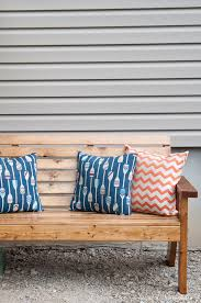 Free Plans For Outdoor Sofa by Slatted Outdoor Sofa Build Plans A Houseful Of Handmade