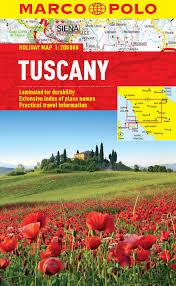 Italy Map Tuscany by Walking In Tuscany 50 Walks Throughout Tuscany Cicerone