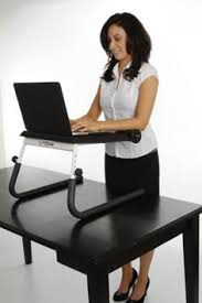 the varidesk is an adjustable height stand up desk that allows you