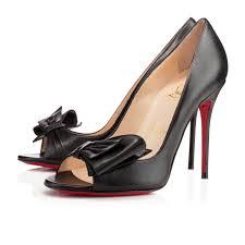 christian louboutin just soon cuir 100 mm 1140431bk01 shoes