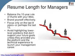 Resume Length How Long Should Your Resume Be