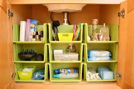 Bathroom Cabinet Organizer Brilliant Bathroom Cabinet Organizers Homesfeed