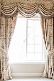 Swag Curtains With Valance Debutante Austrian Swags Style Swag Valance Curtain Set Pink Peony