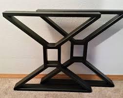 Flat Bar Table Legs Metal Table Legs Flat Bar Trapezoid