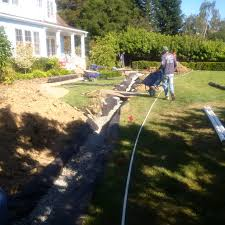 french drain work in the san francisco bay area and peninsula