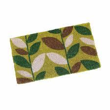 flooring novelty natural coir door mat indoor outdoor with coir