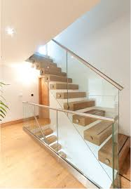 Glass Banister Uk Feature Staircases Diverso