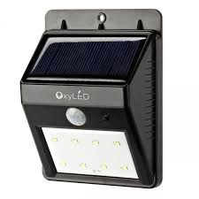 Solar Shed Light by Oxyled Outdoor Solar Powered Led Light With Motion Sensor
