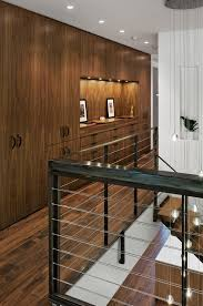 built in hallway cabinets led chandelier convention other metro contemporary hall remodeling