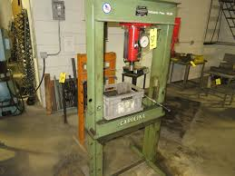carolina 50 ton manual hydraulic h frame shop press model cbp 1200