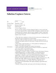 Engineering Cover Letter Internship by Tutor Resume And Cover Letter Examples Clinical Nutrition Major