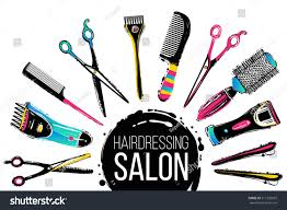 barber shop haircut beauty salons banners stock vector 511270507