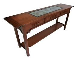 Arts And Crafts Sofa Table by Greene And Greene Style Furniture And Decor Custommade Com