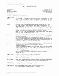 Pastor Resume Template Youth Resume Examples Ideas 12 Free High Student Resume Examples