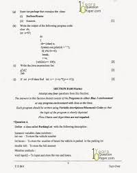 icse 2015 computer application class x 10 years question paper