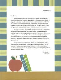 ideas of cover letter for student teaching placement also letter