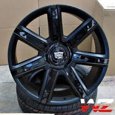 cadillac escalade black rims 24 2016 satin black platinum style ca87 wheels fits cadillac
